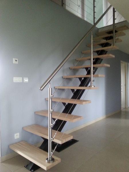 escalier droit occasion