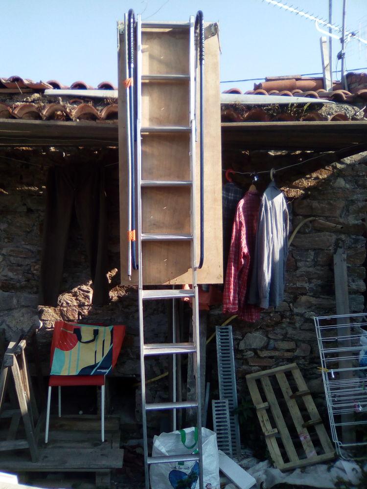 Escalier alu escamotable télescopique+2 rampes 120 Lacabarède (81)