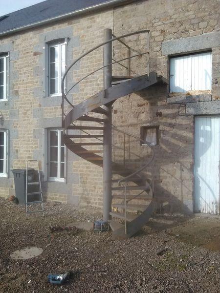 Achetez escalier metalique occasion annonce vente danvou la ferri re 14 - Escalier en metal a vendre ...