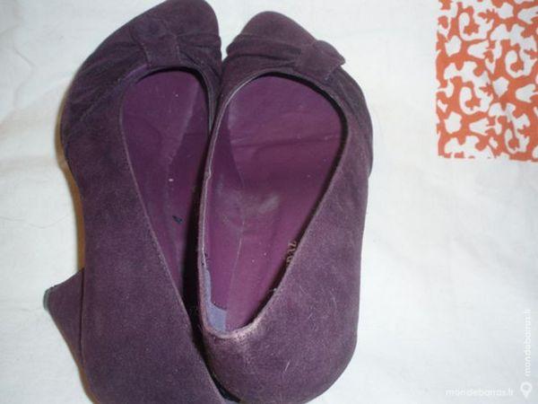 Escarpins  violets 10 Chelles (77)