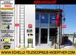 Escbeau-échelle pliante Woerther - en aluminium - de 2 mètres à 6 mètres - Garantie 5 ans Bricolage