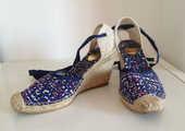 Espadrilles sandales compensées - RAS - Taille 39 25 Marseille 6 (13)