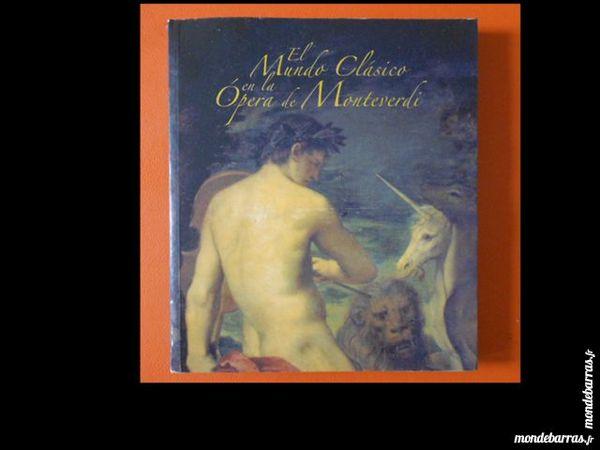 Espagnol Opéra Monteverdi Orfeo Catalogue 50 Paris 16 (75)
