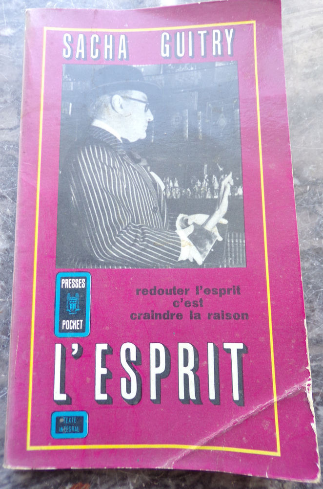 L' esprit Sacha Guitry aux Presses Pocket 185 pages 3 Laval (53)