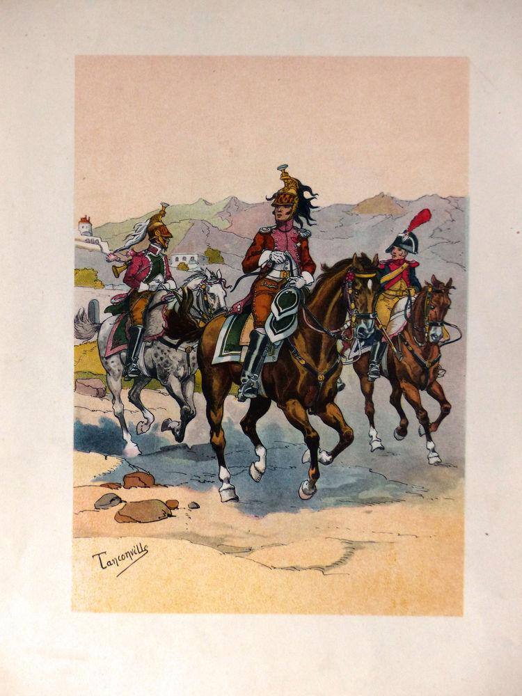 3 estampes couleurs ---Soldats de l'Empire (année 1914) 20 Nordheim (67)