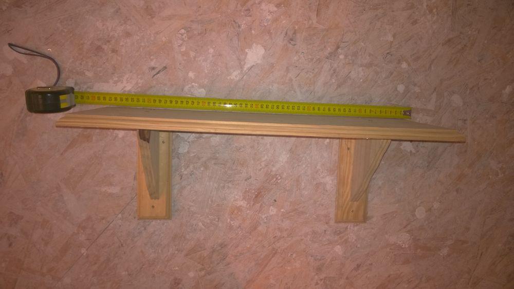 Etagère en pin 57cm x 20 cm 2 Rouen (76)