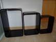 Etagère 3 cubes - Couleur Noir Meubles
