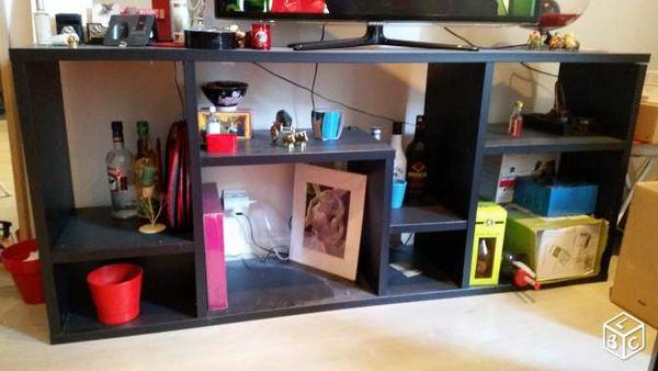 Etagère / grand meuble TV noir 70 Nantes (44)