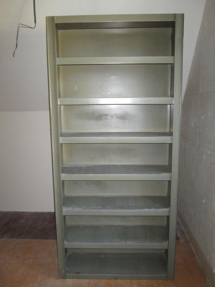 Etagère industrielle métallique vintage 400 Herblay (95)