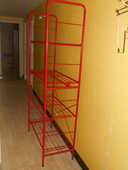 ETAGERE TUBULAIRE rouge 18 Dammarie-les-Lys (77)