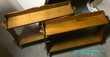 Lot de 3 étagères en bois