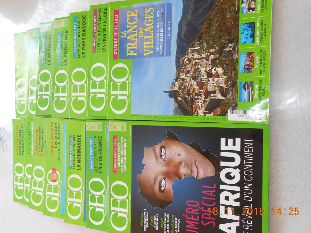 Géo , état neuf prix 0,50€ par magazine 1 Marck (62)