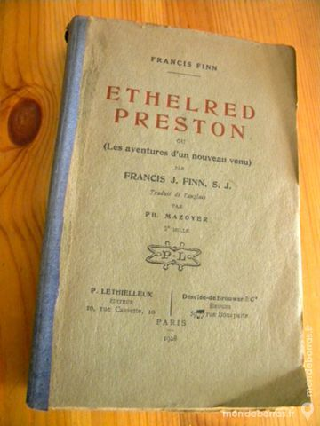 Éthelred Preston ou Les aventures? 1928 8 Villeurbanne (69)