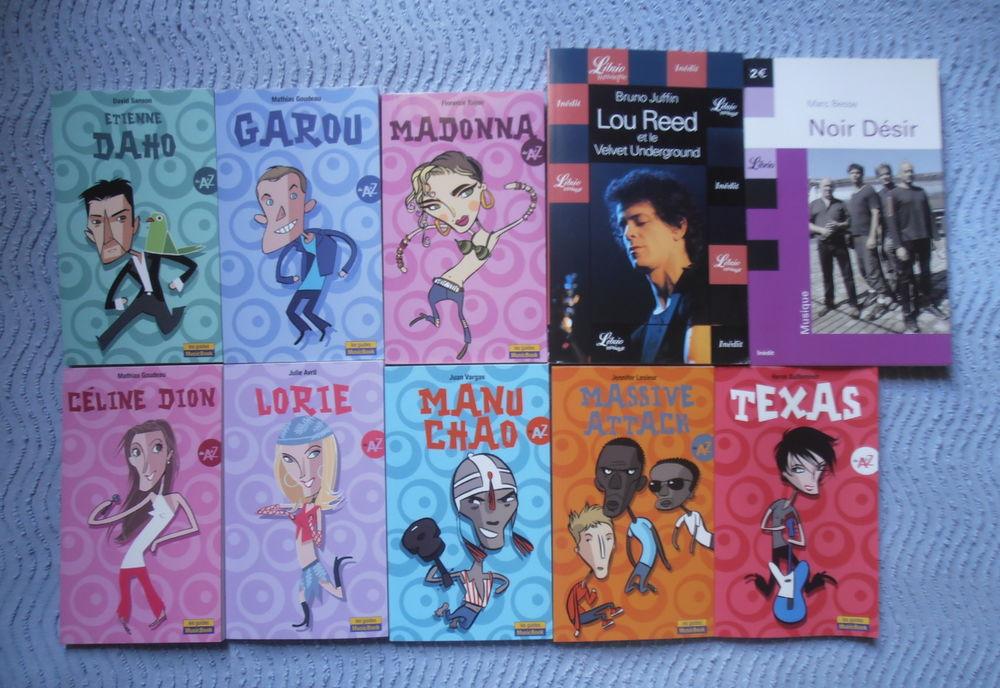Étienne Daho,Céline Dion,Garou,Lorie,Madonna,Manu Chao,Texas Livres et BD
