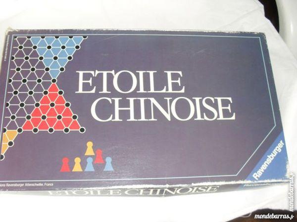 ETOILE CHINOISE et autres jeux         Ravensbuger 5 Floirac (33)
