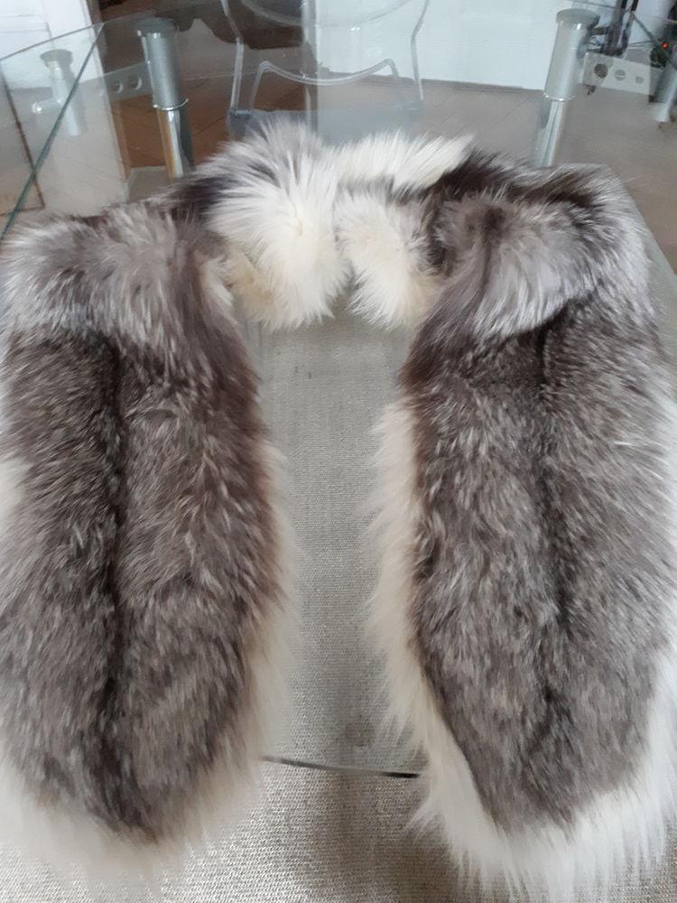 2 étoles en renard argenté Vêtements
