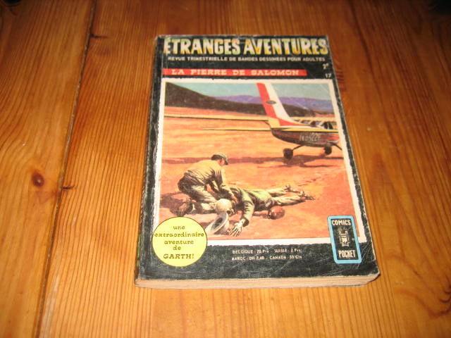 bd ETRANGES AVENTURES 17 aredit comics pocket dc 1970 7 Cézy (89)