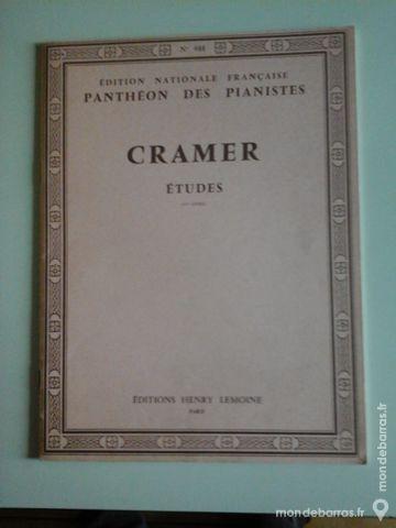 ETUDES DE CRAMER POUR PIANO 10 Albi (81)
