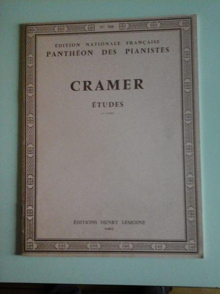 ETUDES POUR PIANO DE CRAMER 10 Albi (81)