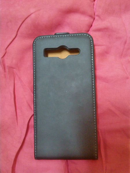 Etui Housse de protection Smartphone HUAWEI G 525 CUIR noir 1 Valence (26)