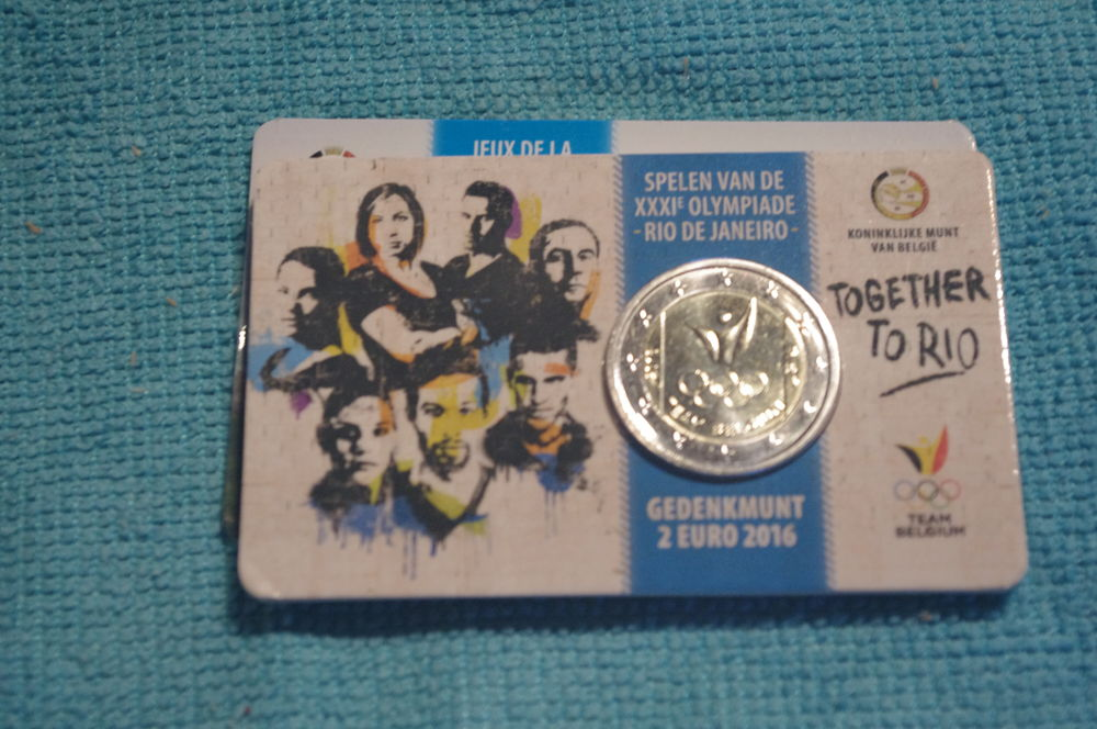 EURO BELGIQUE  2016 - BU 12 Grues (85)