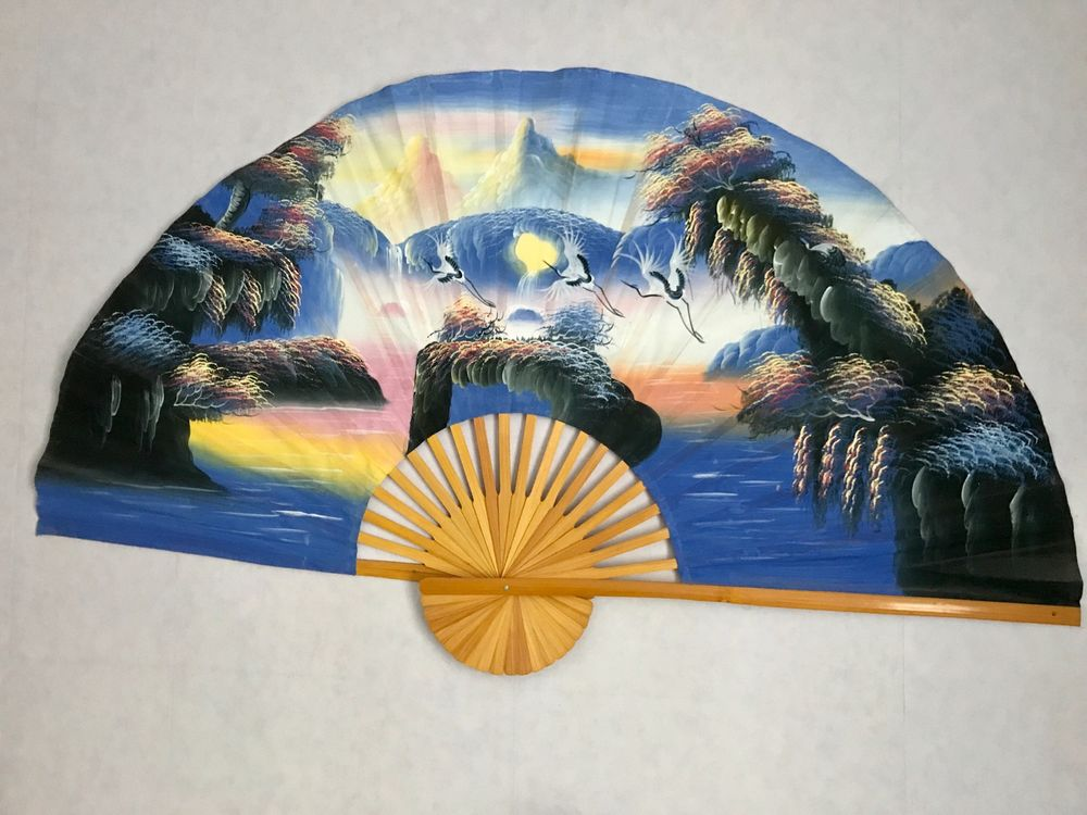 Eventail Mural Style Japonais