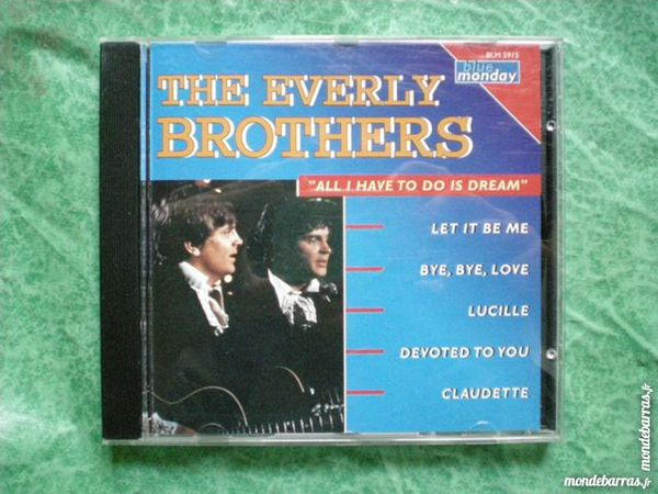 CD The everly brothers    All i have to do is  3 Saleilles (66)