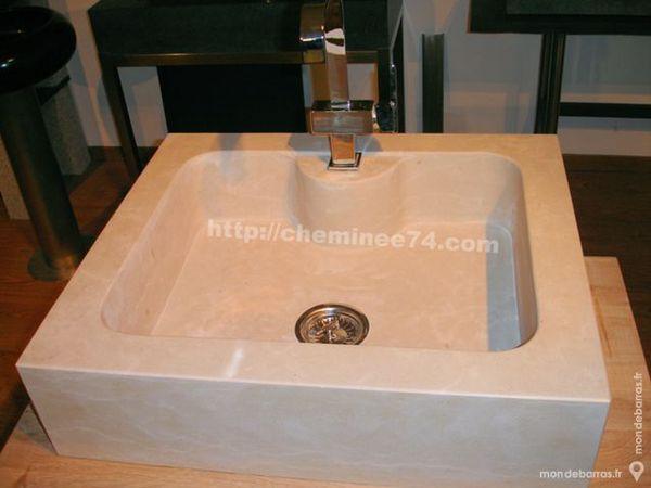 Evier vasque en pierre naturelle dur Décoration