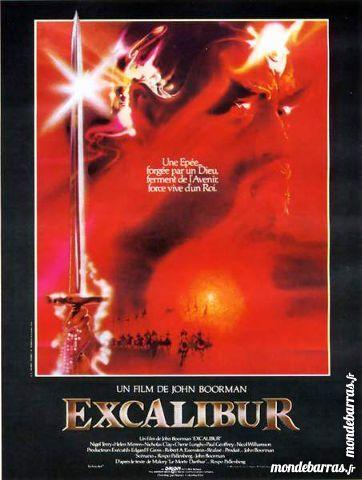 K7 Vhs: Excalibur (543) 6 Saint-Quentin (02)