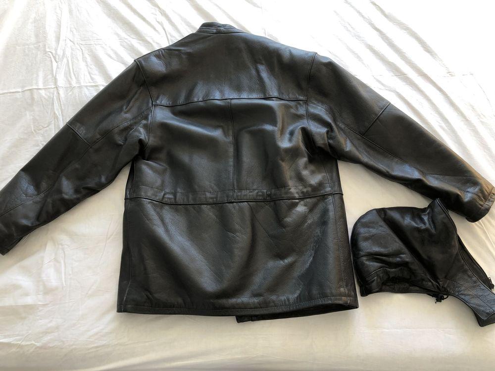 Exceptionnelle : Veste longue cuir pour   moto   : NEUVE 200 Bordeaux (33)