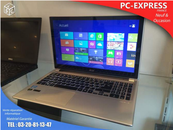 PC-EXPRESS : Acer core i5 / 750 go / 4 GB /TACTILE  499 Lomme (59)
