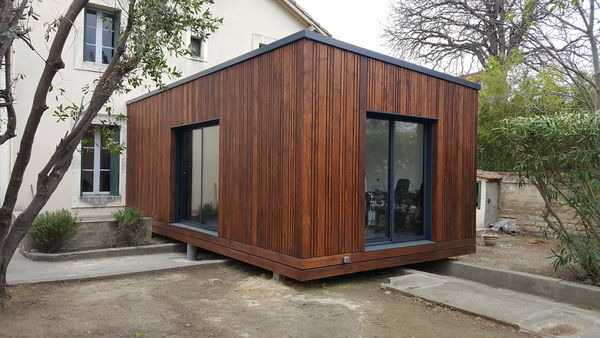 EXTENSION OU GARAGE OSSATURE BOIS (neuf) Bricolage
