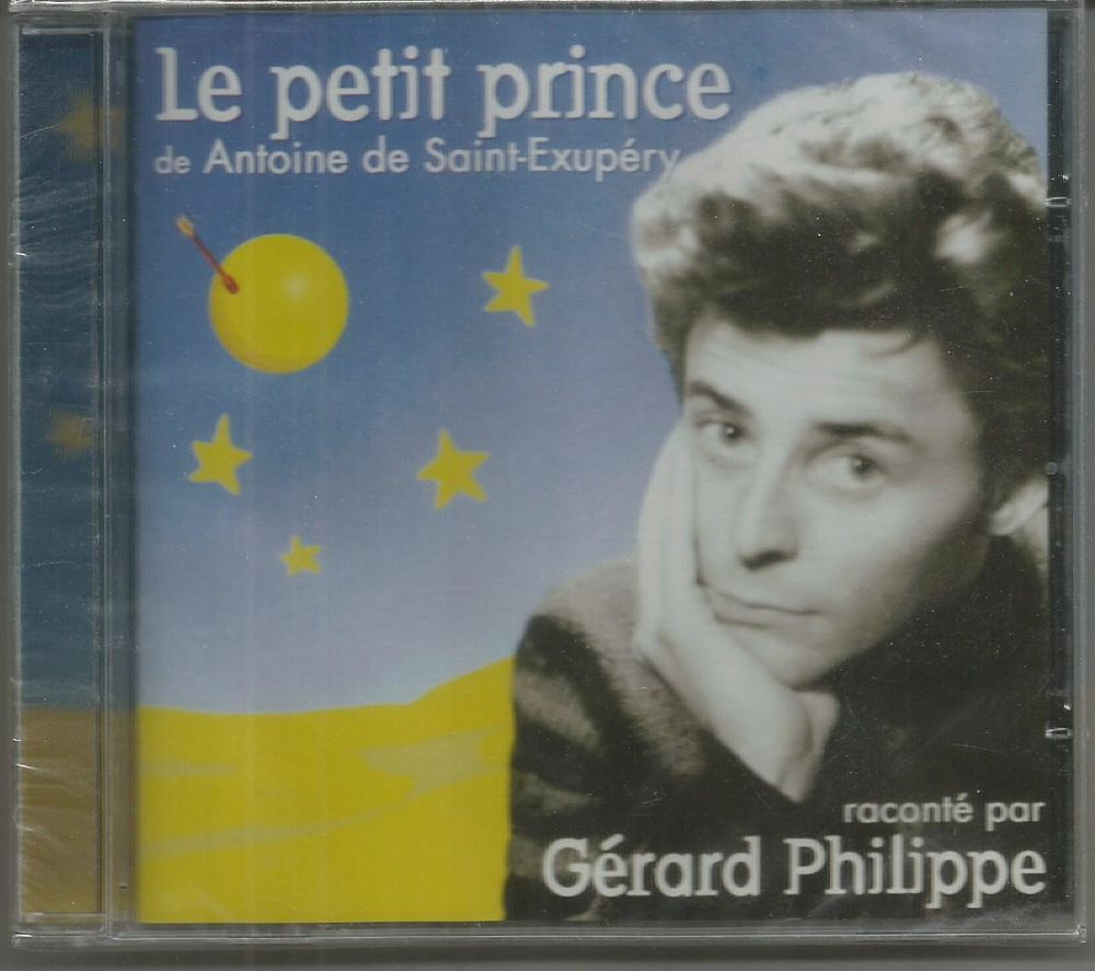St Exupéry : le  petit prince - Gérard Philippe 5 Montauban (82)