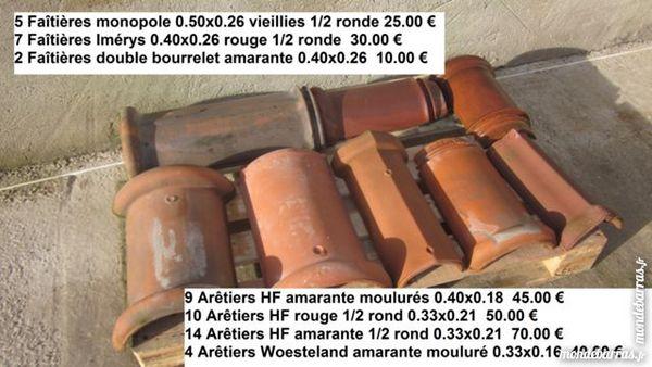 Faîtières et Arêtiers terre cuuite 10 Calais (62)