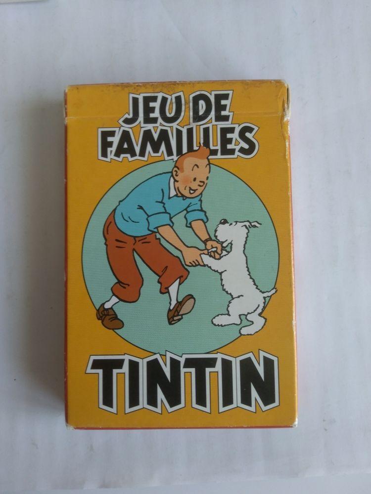 Jeu de famille  Tintin  35 Calais (62)