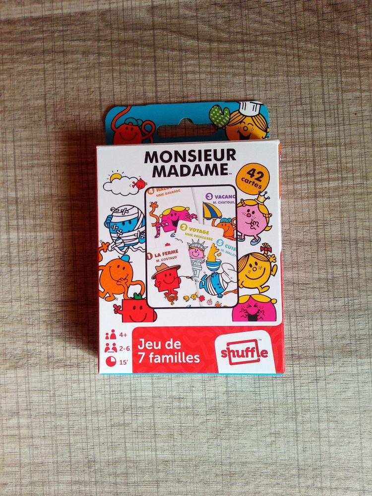 Jeu des 7 familles Monsieur Madame (Neuf) 8 Ardoix (07)