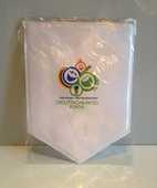 Fanion Coupe du Monde de la FIFA Allemagne 2006. 15 Mont-Saint-Aignan (76)
