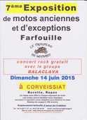 farfouille et exposition de motos anciennes et d'exception  0 Corveissiat (01)