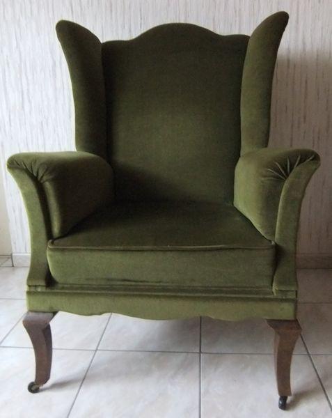 Achetez fauteuil anglais occasion annonce vente pompey 54 wb149033965 - Fauteuil avec oreilles ...