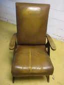 fauteuil avec pieds compas à rénover vintage bois bon état 0 Mérignies (59)