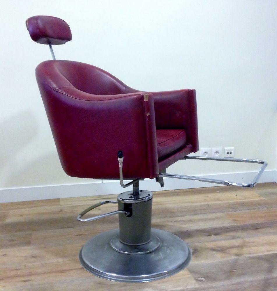 Achetez fauteuil de barbier occasion annonce vente paris 75 wb154885746 - Fauteuil barbier vintage ...