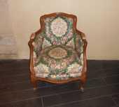 fauteuil bergère ancien de Style Louis XV 100 Béziers (34)