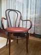 Fauteuil en bois courbé n° 18 de Fischel années 1910/20 185 Campénéac (56)