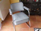 fauteuil de bureau industriel de style bauhaus 150 Idron (64)