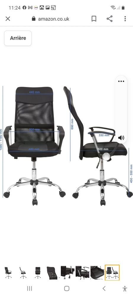 fauteuil de bureau 80 Bourgoin-Jallieu (38)