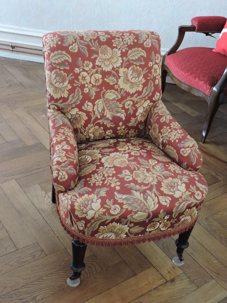 fauteuil cabriolet bois et tissu 50 Strasbourg (67)
