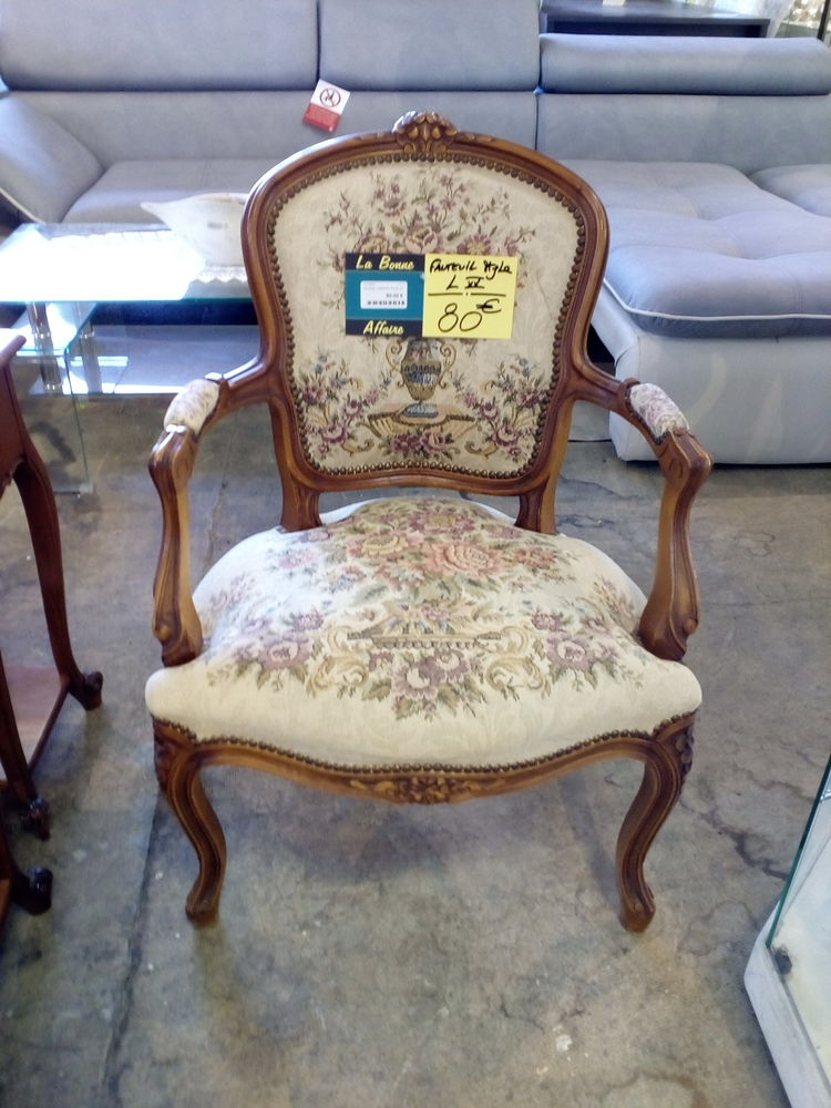 Fauteuil cabriolet style Louis XV 80 Toulouse (31)