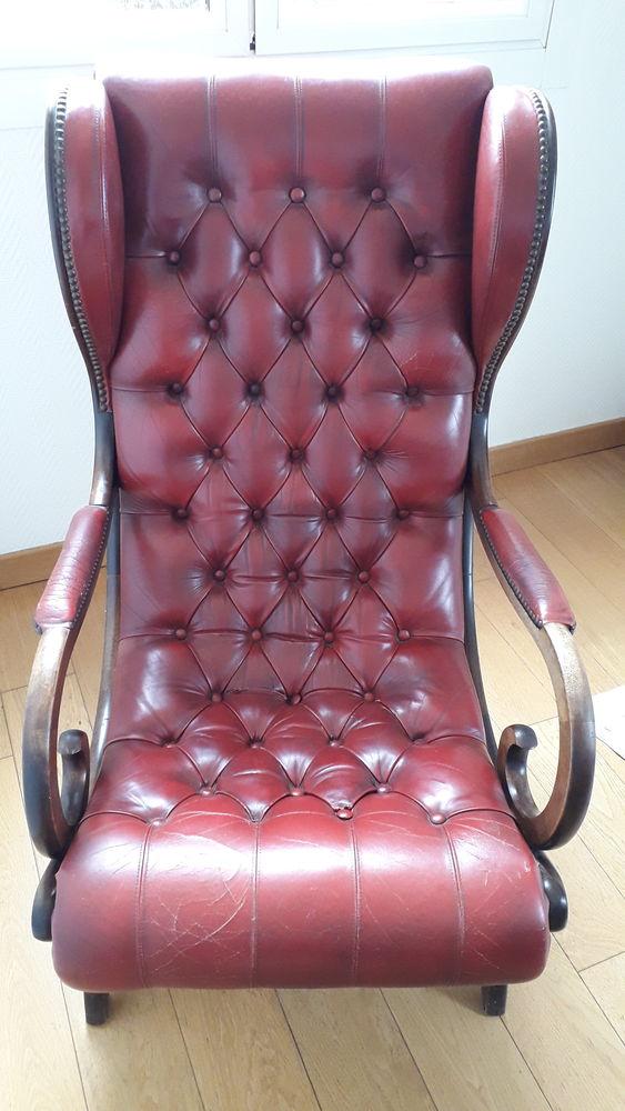 fauteuil Chesterfield années 70/75 290 Marseille 12 (13)