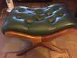 fauteuil chesterfield + repose pieds Nice (06)