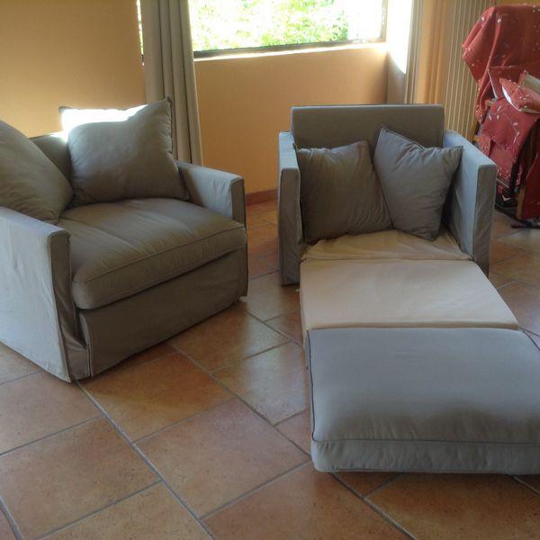 2 fauteuil convertible en lit 80 NEUF 220 Nouzonville (08)